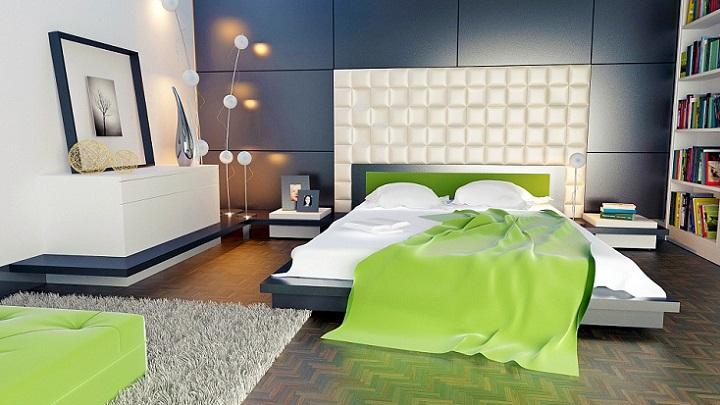 dormitorio-verde